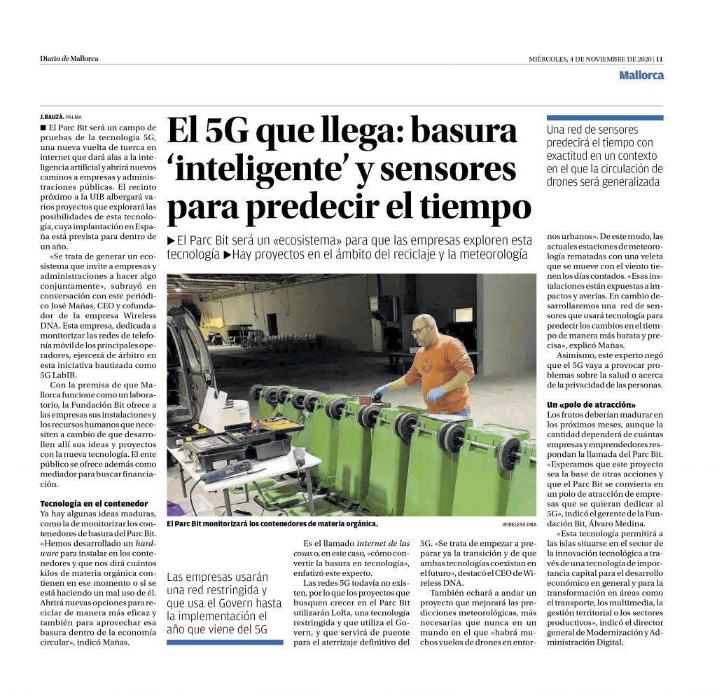 20201104_5g LabIB_Diario de Mallorca (impreso)
